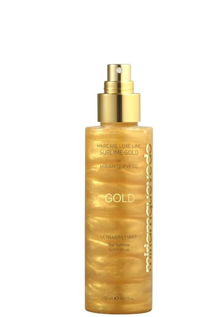 MIRIAM QUEVEDO Ultra brilliant The Sublime Gold Lotion