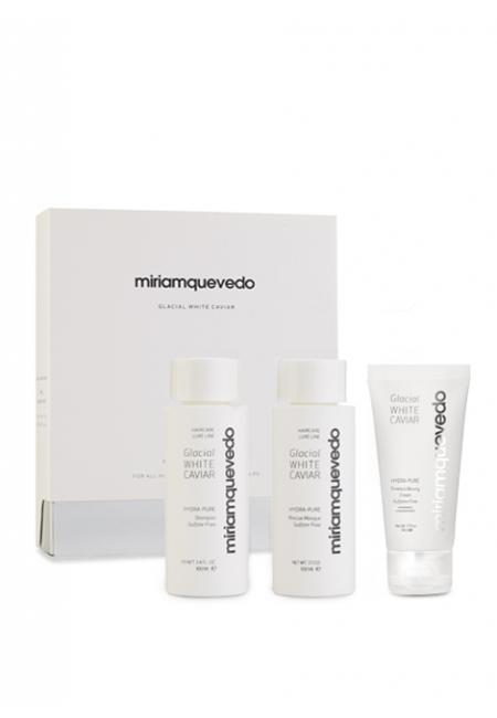 MIRIAM QUEVEDO Glacial White Caviar Global Rejuvenation Set 2X100ML + 1X50ML