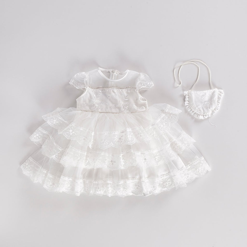 LACE KIDS GIRL GOWN PARTY DRESS WHOLESALE