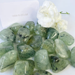 Prehnite, a crystal of unconditional love