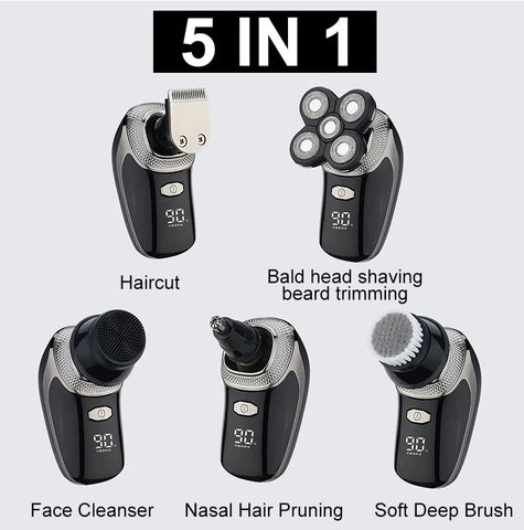 multi function rotary shaver
