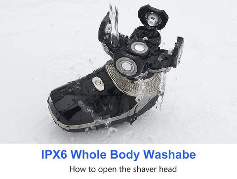 waterproof electric shaver