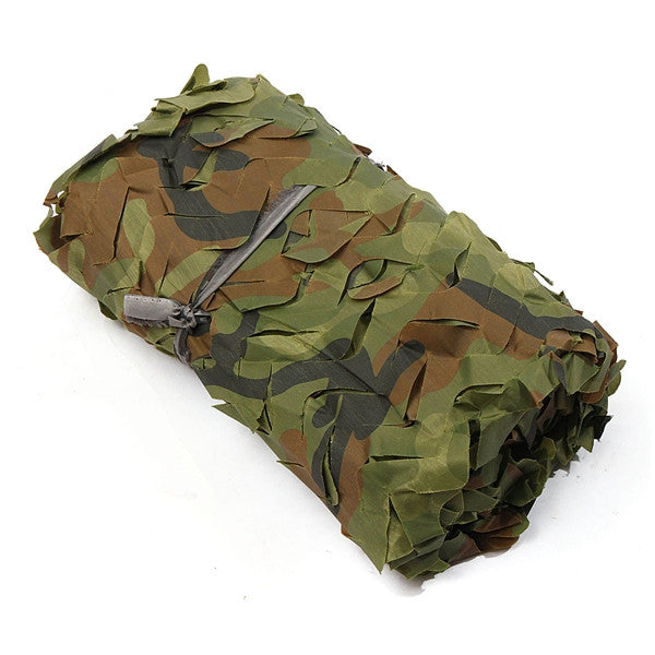 2mx2m Camo Camouflage Net For Car Cover Camping Military Hunting Hide