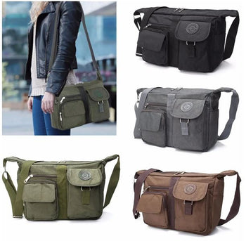 Casual Nylon Shoulder Handbag Travel Messenger Crossbody Tote