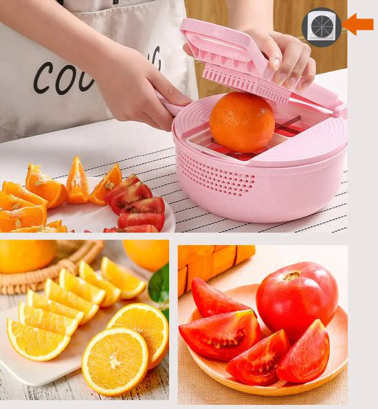 9 IN 1 Multifunctional Easy Food Chopper Cutter Vegetable Cutter Blender Chopper Slicer