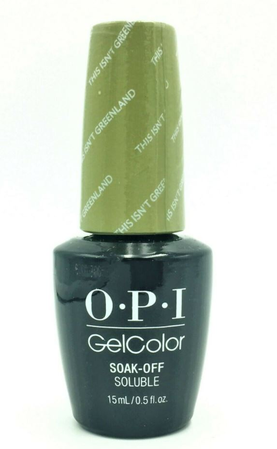 Gel Polish OPI GelColor Soak Off Nail Colors 15ml 0.5oz Choose Any Series 1
