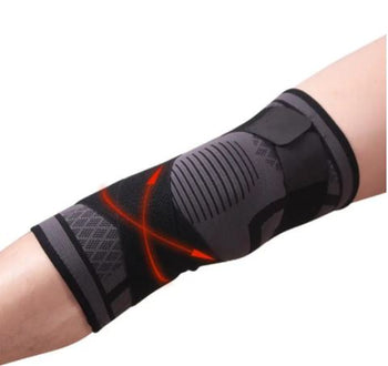 PC Knitting Knee Compression Pad Fitness Exercise Running Cycling Elastic Knee Support Sports Knee Protective Gear