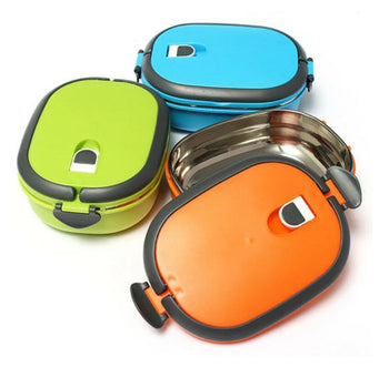 Vacuum Seal Stacking Insulated Lunch Box Stainless Steel Thermal Insulation