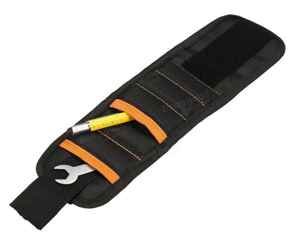 Magnetic Wristband Strong Magnets Pockets for Holding Tools Screws