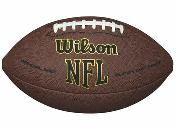 Wilson NFL Super Grip Official Full Size Football