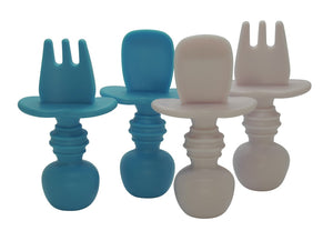 Silicone baby cutlery