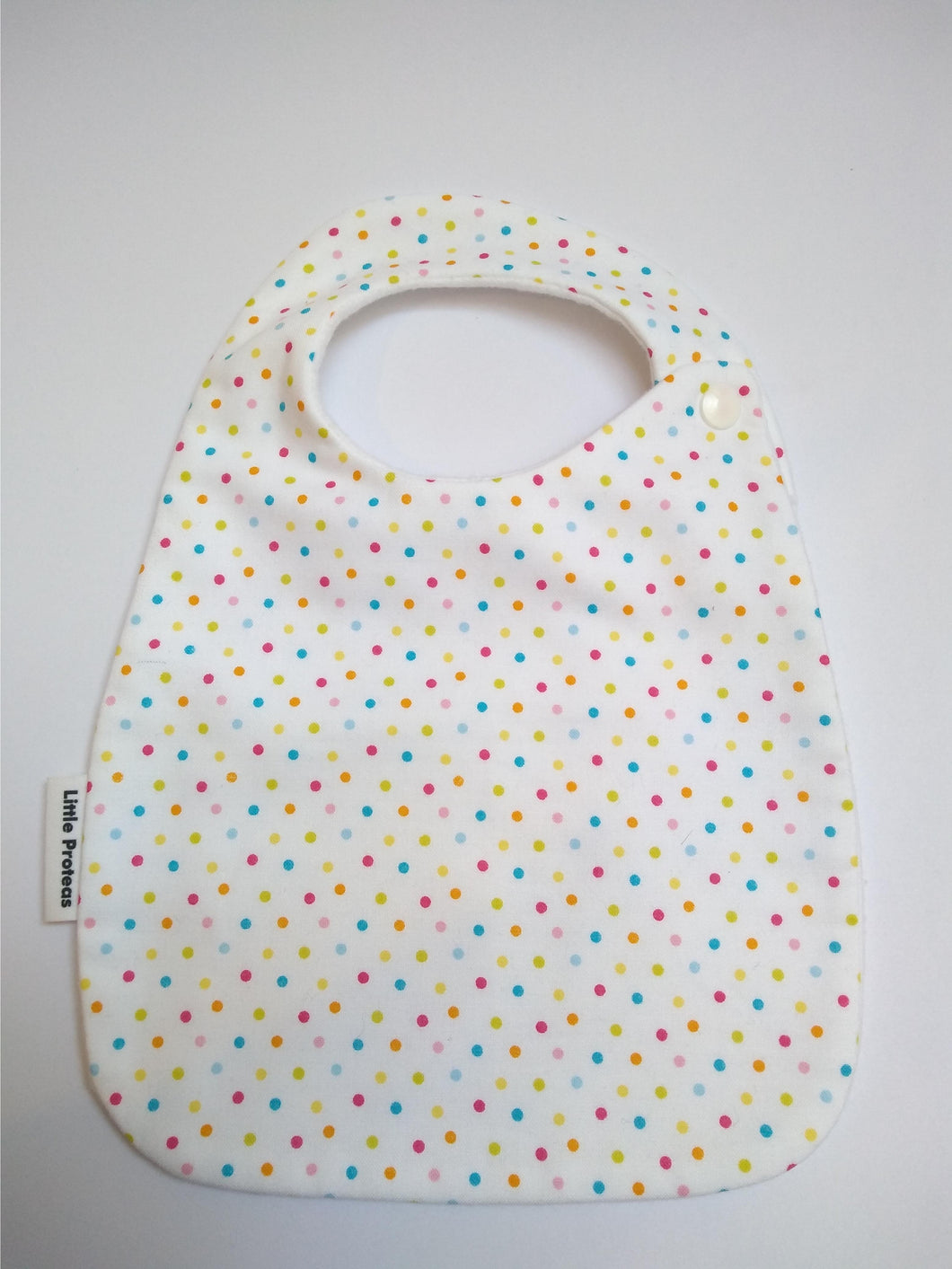 Hundreds and Thousands Dots Bib