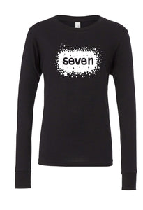Birthday Star Long Sleeve Shirt - Seven