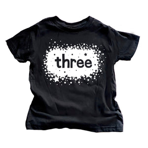 Birthday Star Shirt - Three