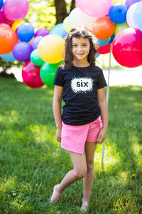 Birthday Star Shirt - Four