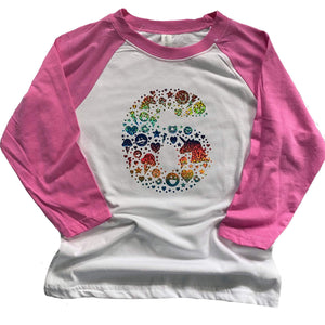 The Glittery Rainbow Unicorn Ice Cream Donut Shirt - Six