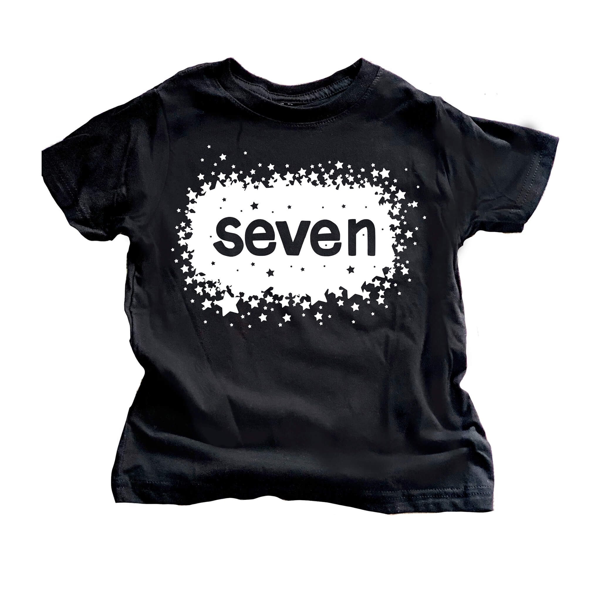 Birthday Star Shirt - Seven