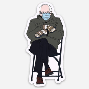 Bernie at the Inauguration