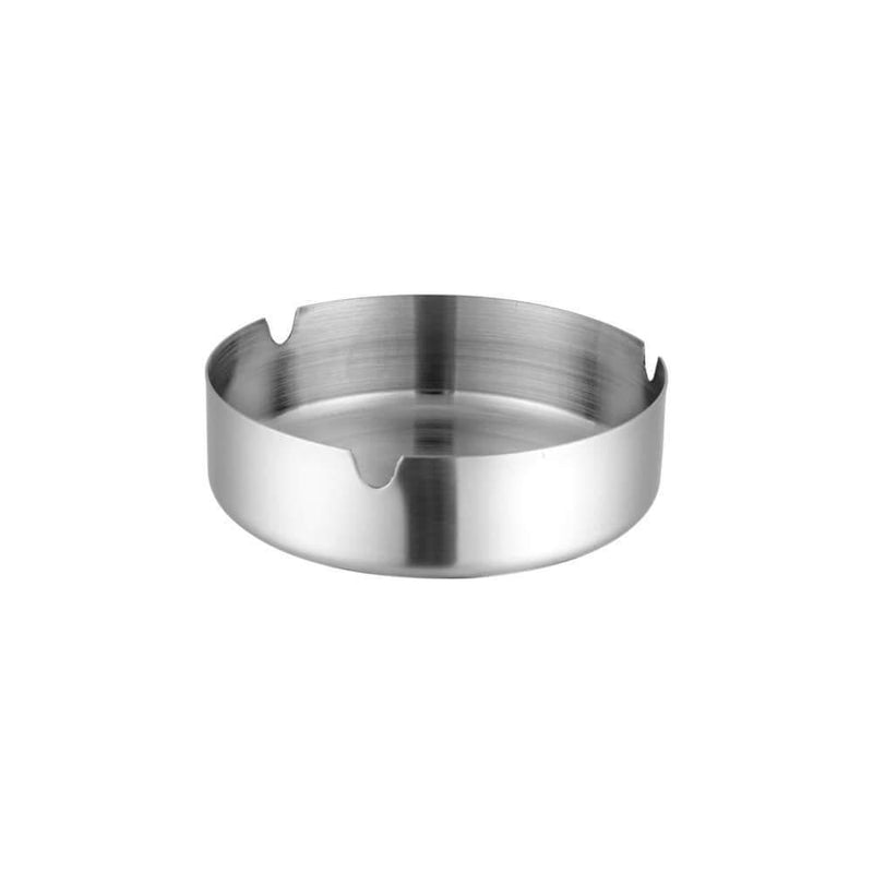 JAGDAMBA CUTLERY LIMITED Bar Tool Ashtray - Round Stainless Steel