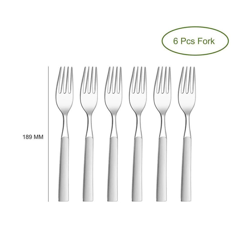 JAGDAMBA CUTLERY LIMITED Cutlery 6 PCS Dinner Fork - Jewel