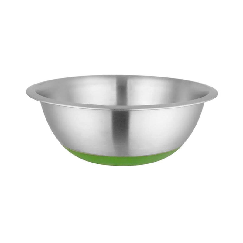 JAGDAMBA CUTLERY LIMITED Daily Needs Anti Skid/ Mixing Bowl - 24cm- Ferro