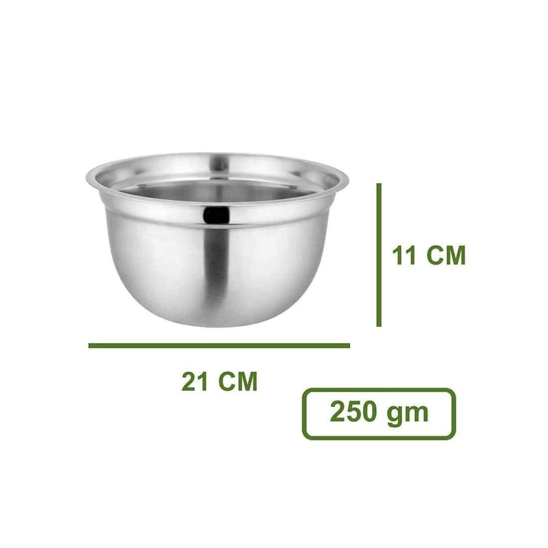 JAGDAMBA CUTLERY LIMITED Daily Needs Mixing Bowl- German