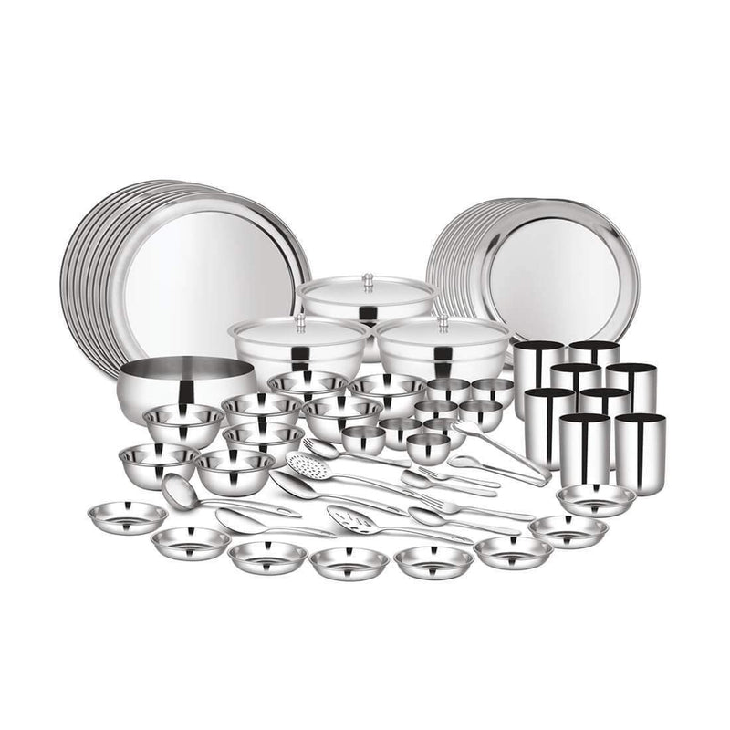JAGDAMBA CUTLERY LIMITED Dinner Set 98 PCS - Dinner set (8 People)