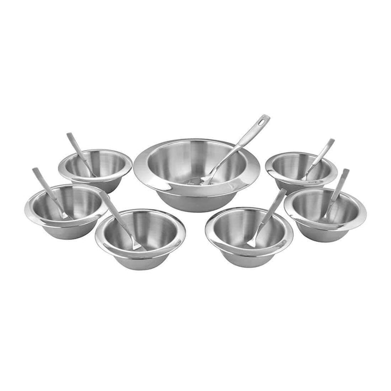 JAGDAMBA CUTLERY LIMITED Serveware 20 PCS Pudding Set - Concreto