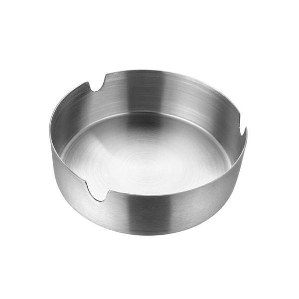 Jagdamba Cutlery Pvt Ltd. Bar Tool Ashtray- Round Stainless Steel