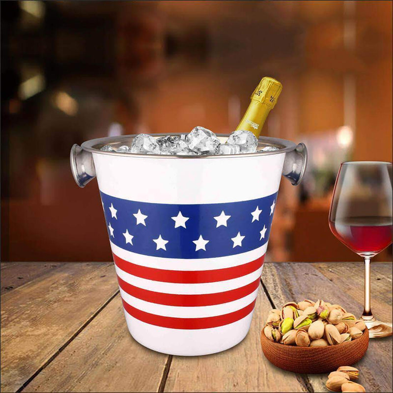 Jagdamba Cutlery Pvt Ltd. Bar Tool Wine / Ice Bucket (Coloured)