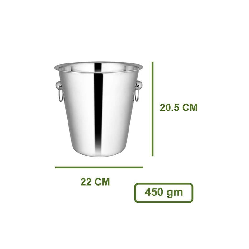 Jagdamba Cutlery Pvt Ltd. Bar Tool Wine / Ice Bucket Plain