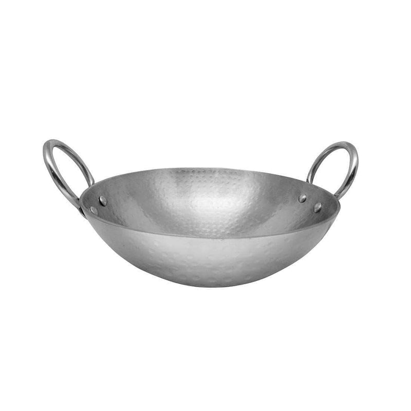 Jagdamba Cutlery Pvt Ltd. Cookware Heavy Weight Hammered Kadhai - 2.5 MM