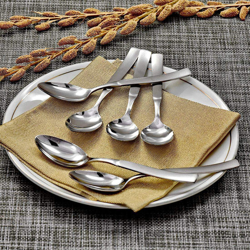 Jagdamba Cutlery Pvt Ltd. Cutlery 6 PCS Dinner Spoon - Jewel (6 PCS Dinner Spoon)