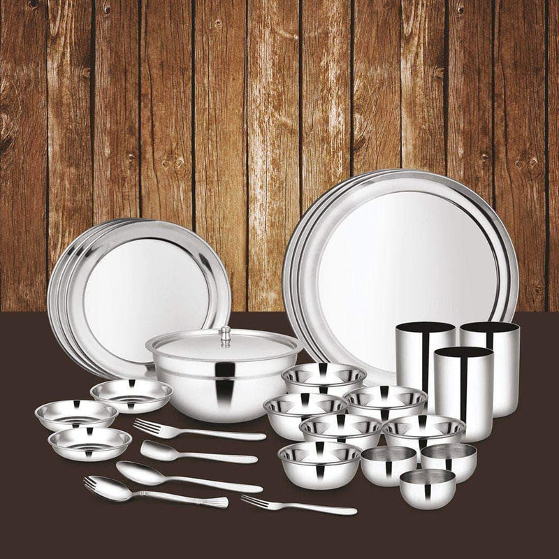 Jagdamba Cutlery Pvt Ltd. Dinner Set 45 PCS Dinner Set (3 People)