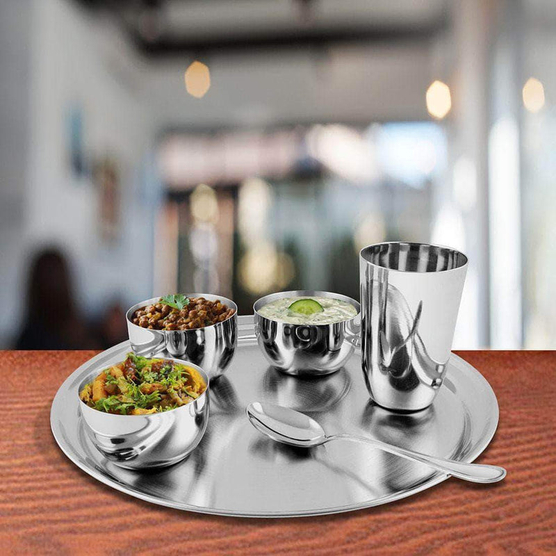 Jagdamba Cutlery Pvt Ltd. Dinner Set Thali Set - Majestic