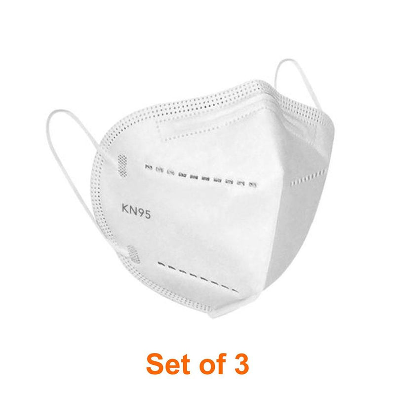 ShriandSam Set of 3 Reusable KN-95 Face Mask / FFP2  (Anti Pollution and Anti Virus)