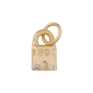 Mini Hanging Charm Lock