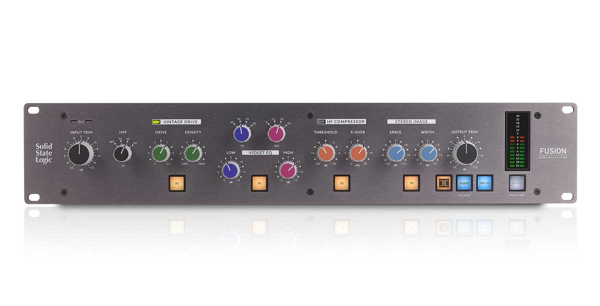 SSL shows new Colours with Fusion