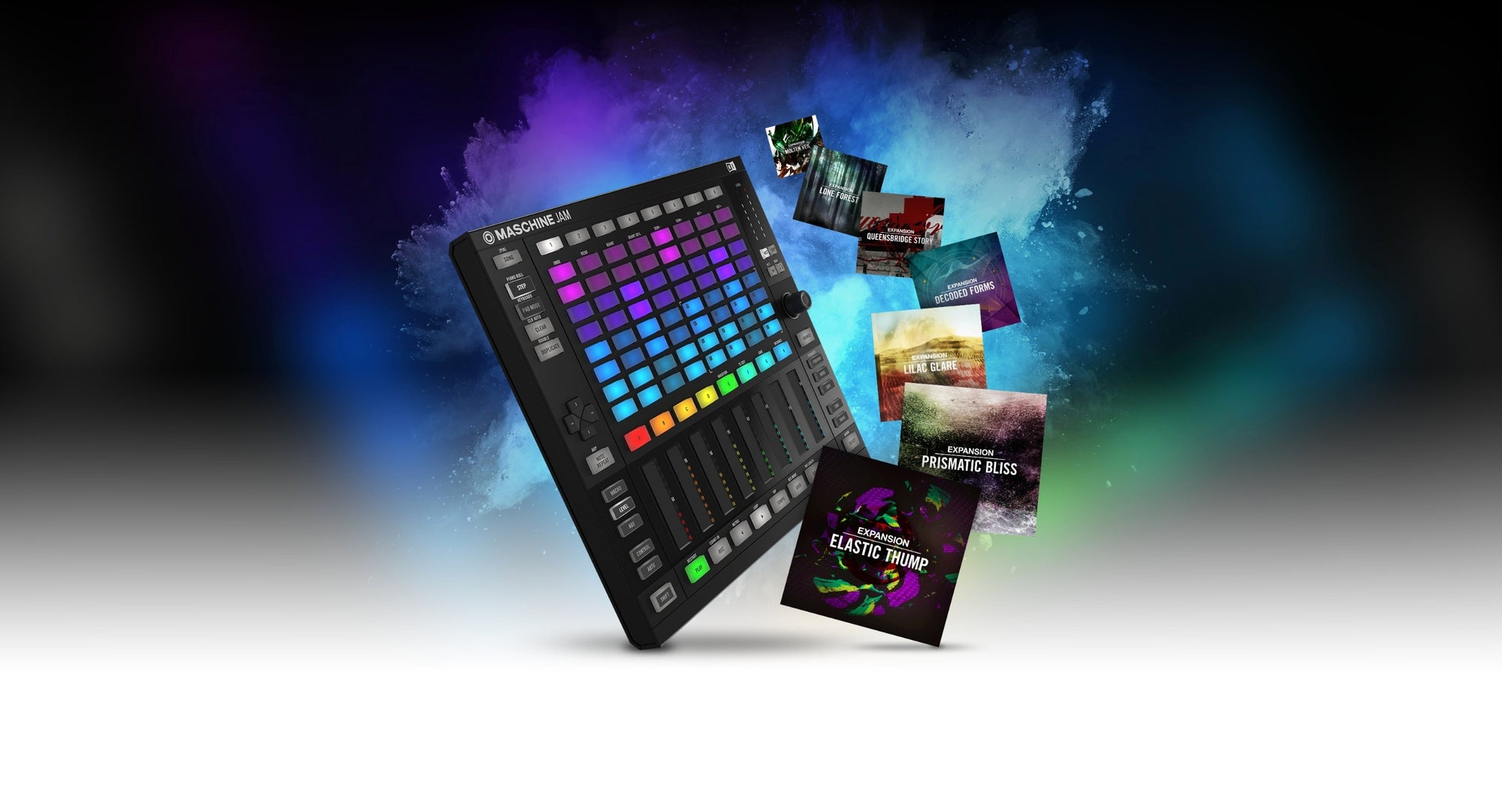 Buy Maschine Jam now and get 7 expansions free!