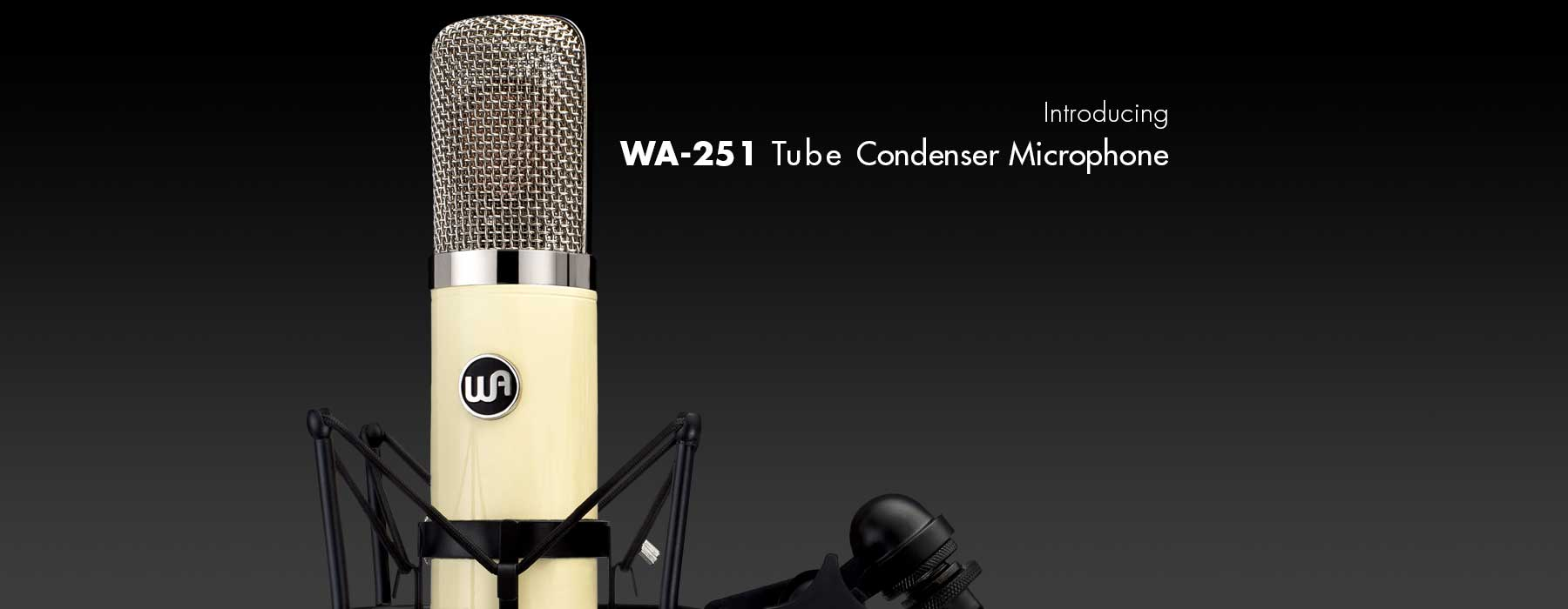 Warm Audio introduces the WA-251 Tube Condenser Microphone