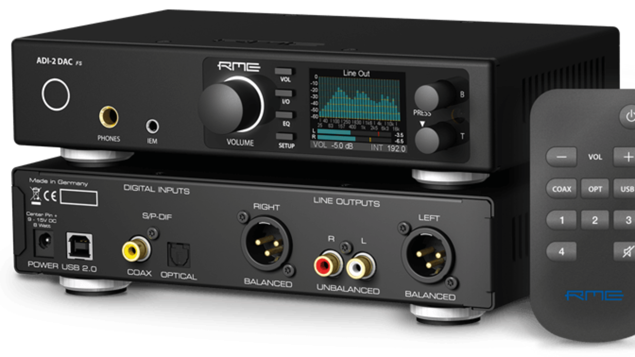 RME release the sublime ADI-2  DAC