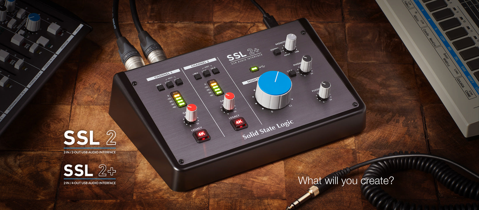 Solid State Logic launches SSL 2 and SSL 2+ Audio Interfaces