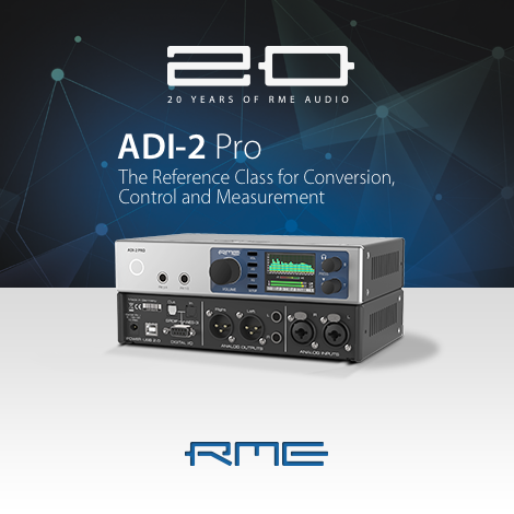 image of banner for RME ADI-2 Pro