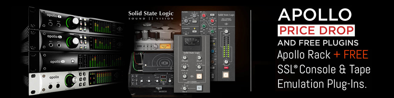 Universal Audio Apollo + SSL Promo Sale