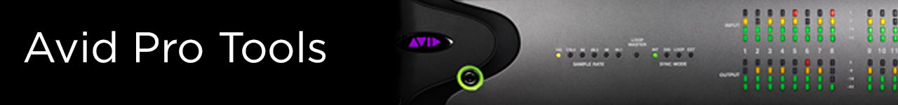 Avid Protools Collection Banner