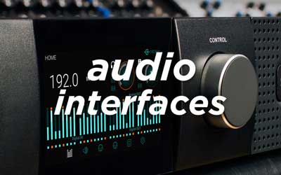 AUDIO INTERFACES AT SOUNDS EASY