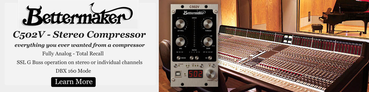 Bettermaker SSL G comp style compressor