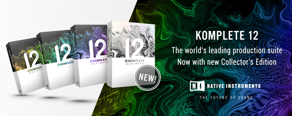 Native Instruments Komplete 12 Now available!