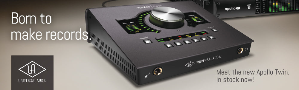 Universal Audio Apollo Twin MKII Thunderbolt Audio