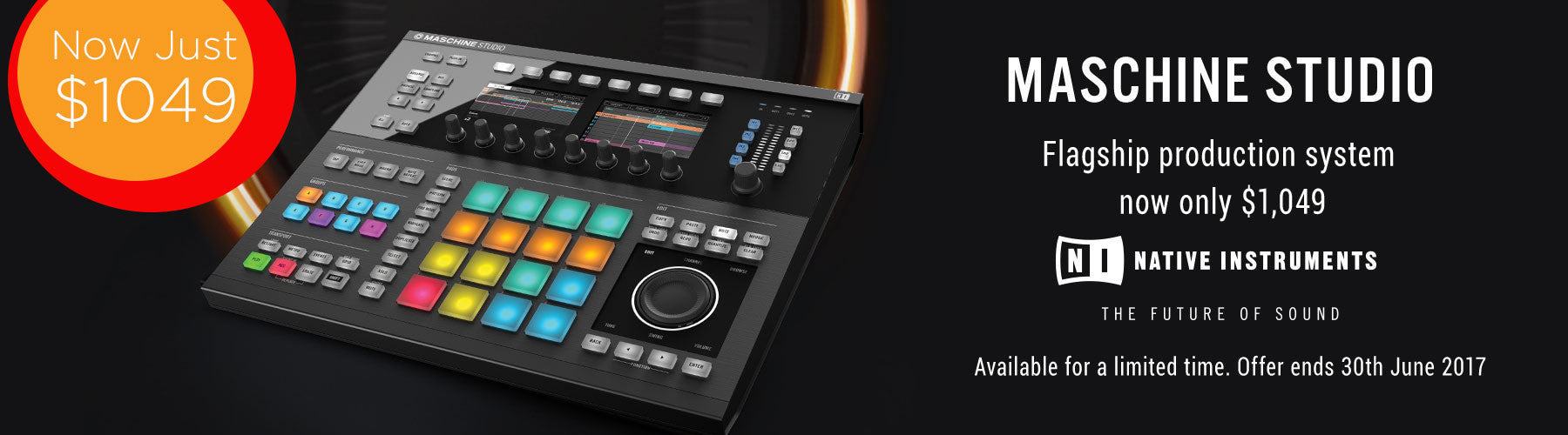 Native Instruments Maschine Studio Sale